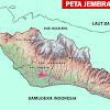 Peta Kabupaten Jembrana Bali Lengkap