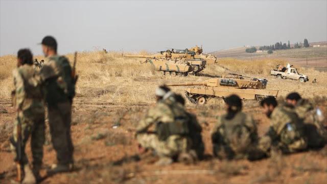 Turquía traslada a 300 terroristas y sus familias al noreste sirio