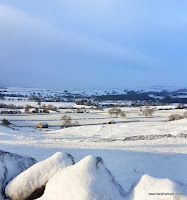 Yorkshire Dales snow