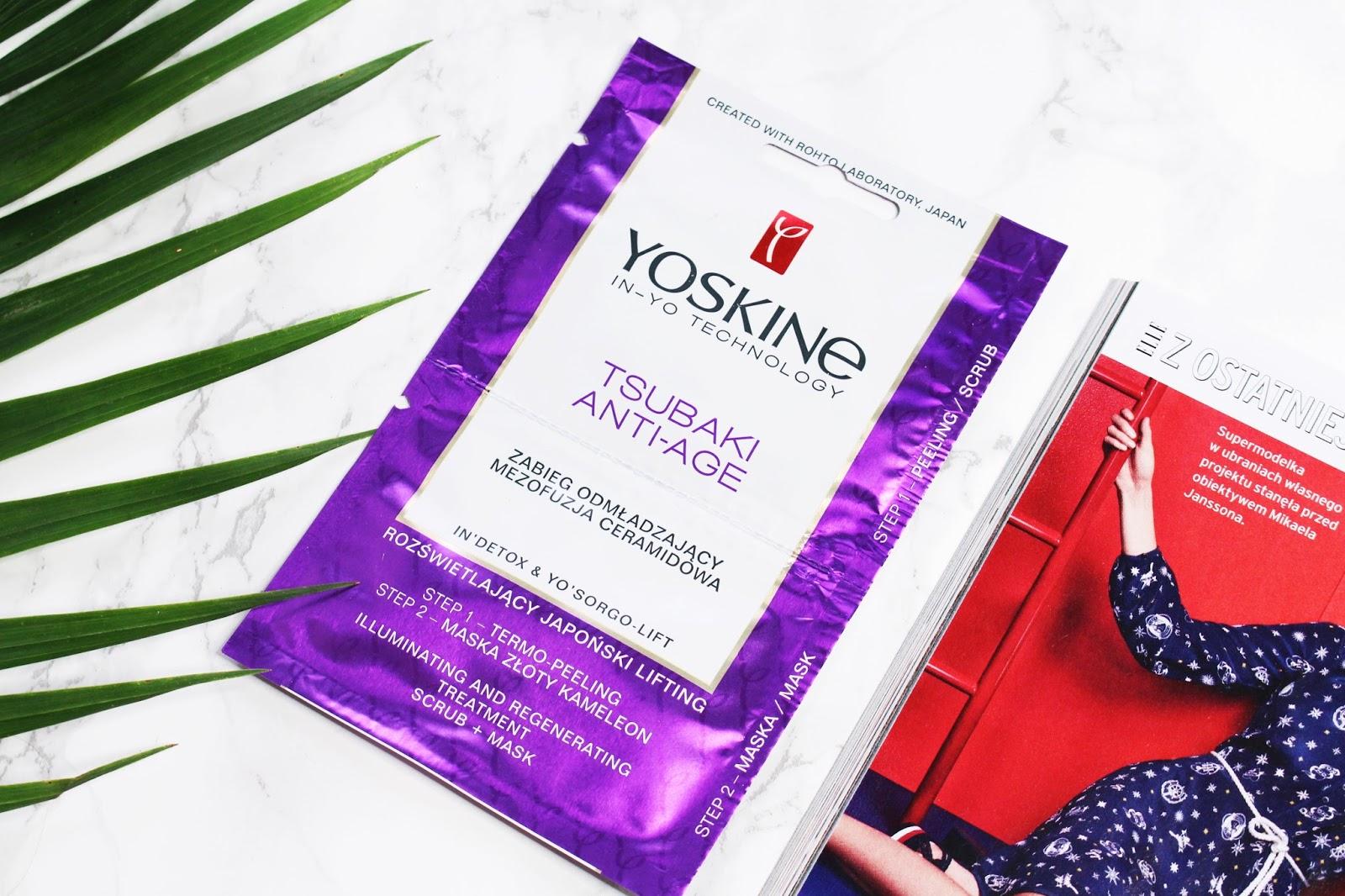 Yoskine ➤ Zabieg mezofuzji ➤ Termo- peeling i regenerująca maska