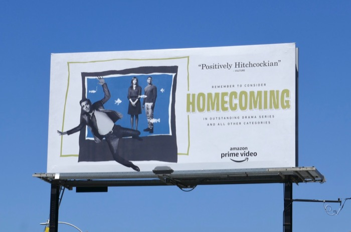 Homecoming season 1 Emmy FYC billboard