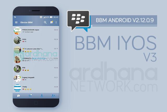 BBM iOS 6 V3 - BBM Android V2.12.0.9
