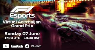 Gran premio F1 Virtual Azerbaijan Baku 7-6-2020