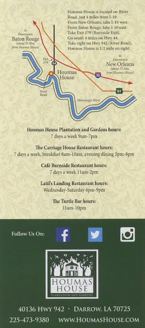 Darrow Louisiana Map.Mariette S Back To Basics Houmas House The Sugar Palace In Darrow