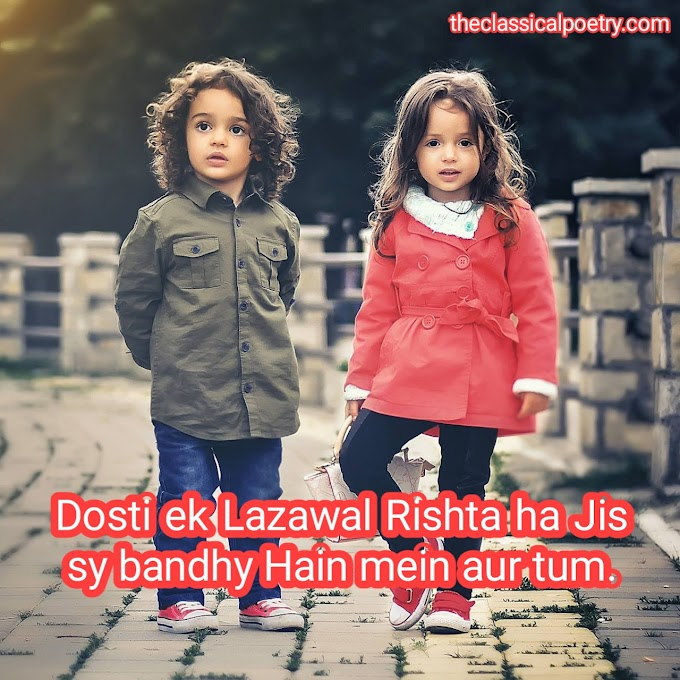Friendship poetry / firndship quotes/ dosti shayari /love poetry / romantic poetry in English , urdu- Hindi