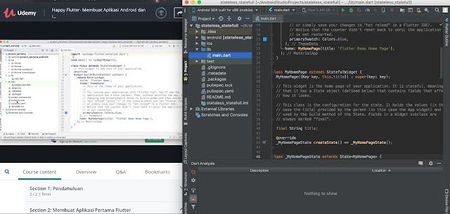 file project android pertama kita - udemy.com