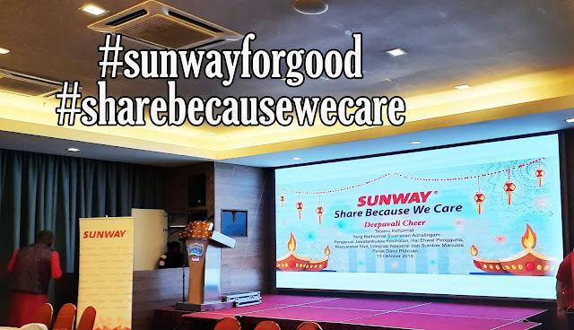 Sunway Group Memberi Senyuman Kepada 160 Pelajar Golongan B40 Di Perak Dengan Program Deepavali Cheer Di Lost World Of Tambun