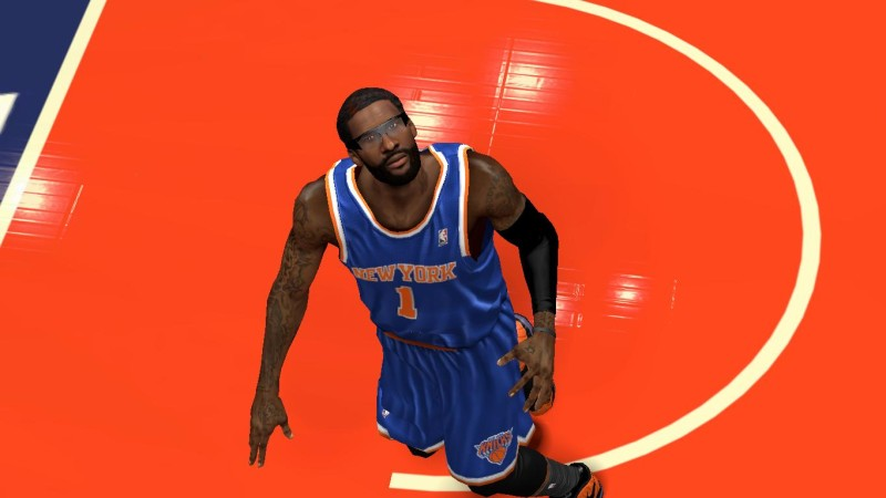 NBA 2K14 Amar'e Stoudemire Cyberface Patch