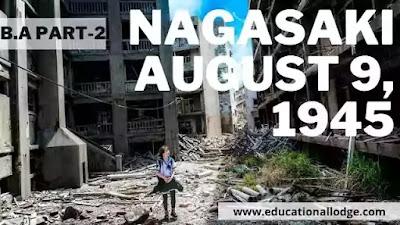 Summary of Nagasaki August9,1945