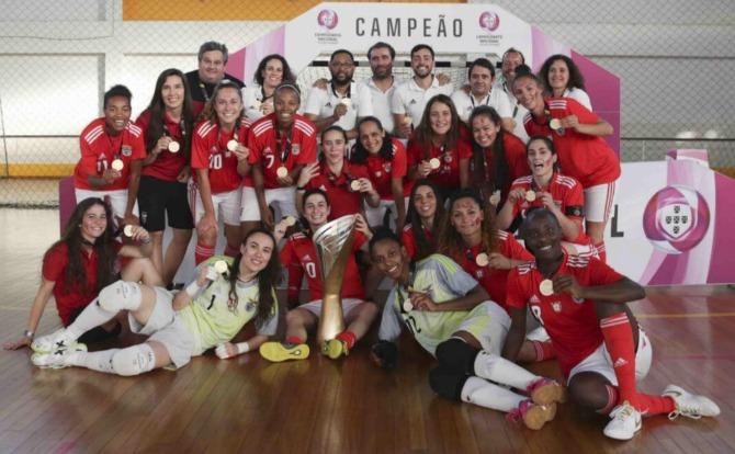 Blogs Benfica Tricampeão Nacional de Futsal Feminino 2018/19