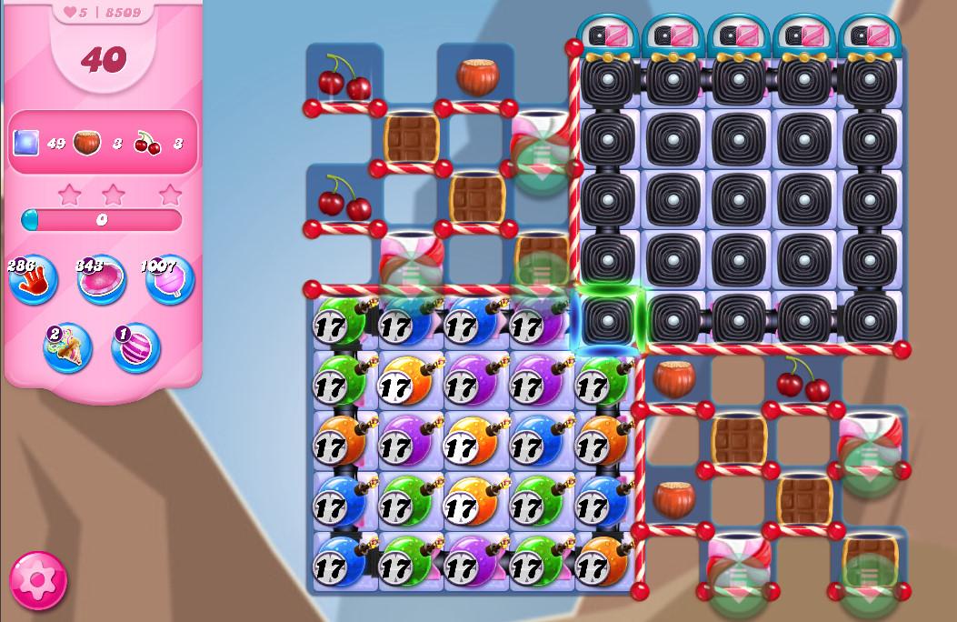 Candy Crush Saga level 8509