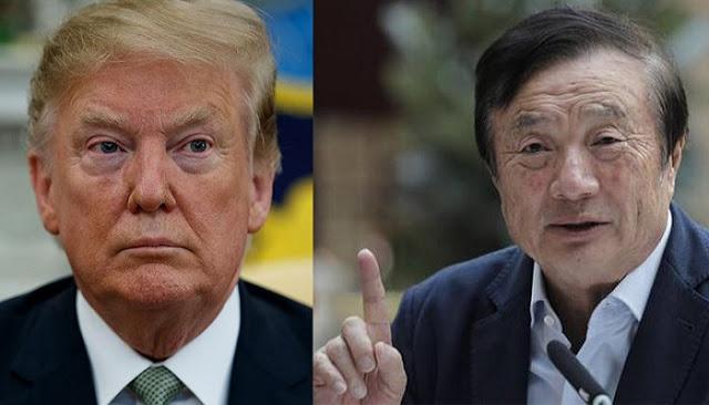 رئيس شركة هواوي يقول : لو إتصل بي دونالد ترامب لن أرد عليه وأرفض التفاوض معه