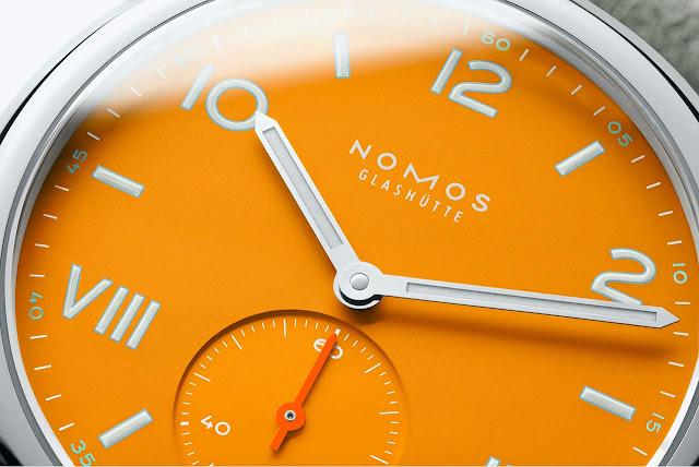 Nomos Glashütte Club Campus future orange