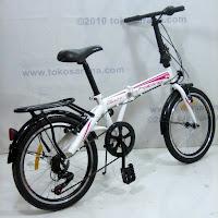 C 20 Inch Element Blast 7 Speed Shimano Folding Bike