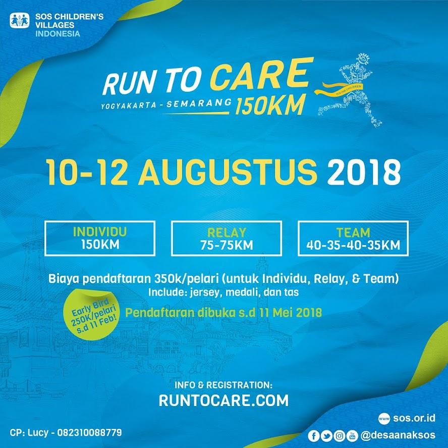 Run To Care • Yogyakarta - Semarang • 2018