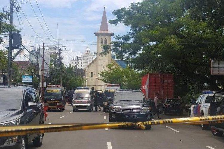 Kominfo Minta Masyarakat Tak Sebar Luaskan Video atau Foto Bom Bunuh Diri Depan Gereja Katedral Makassar