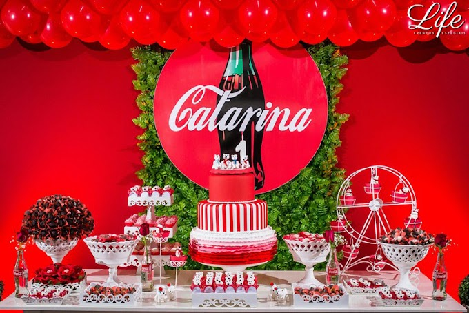 Aniversário Infantil ♦ Coca Cola