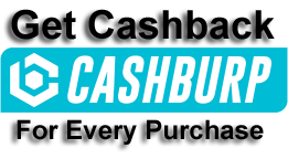 Get Upto Rs.180 cashback for every order you place through CashBurp