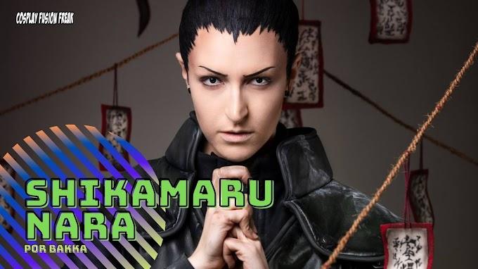 Bakka con su cosplay de Shikamaru Nara