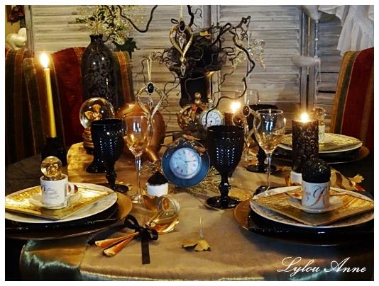 lylou anne collection voeux 2017 et ma table saint sylvestre. Black Bedroom Furniture Sets. Home Design Ideas