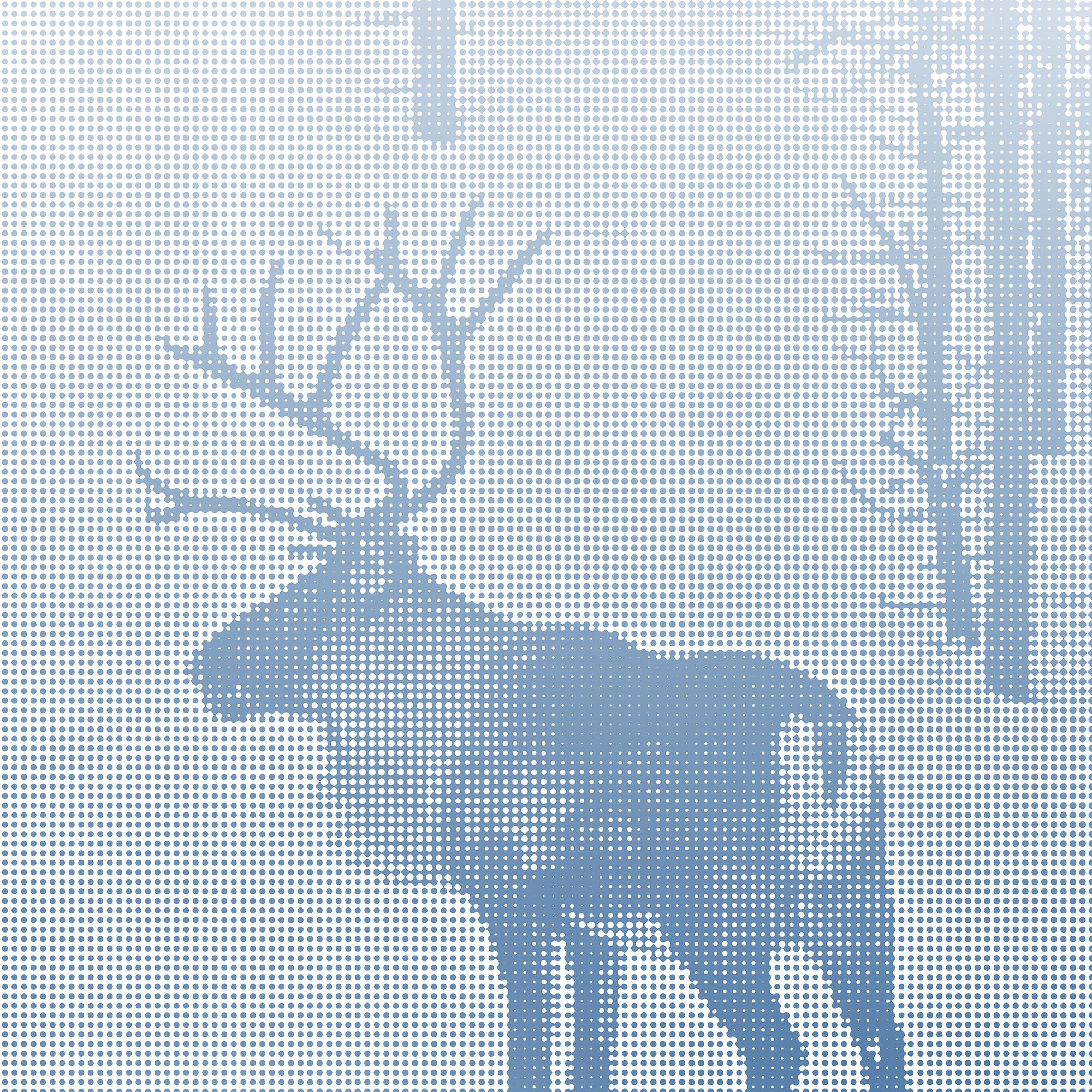 En ren längs vägen i Lappland, Norrland