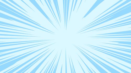 効果線が描かれた背景素材(集中線・色付き)