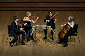 The Sacconi Quartet (Photo Clive Barda)