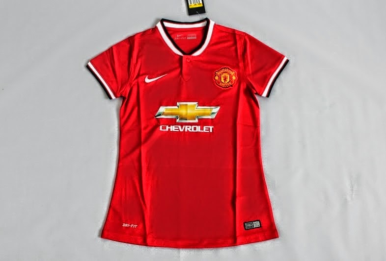 c15c01741 Kumpulan Jersey Bola  Jersey Bola Manchester United Home Ladies 2014 ...