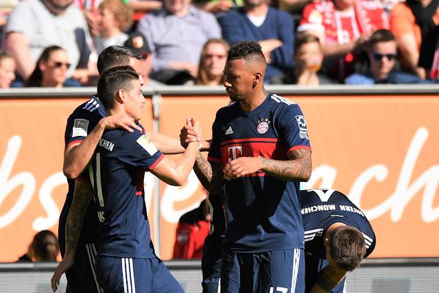 Augsburg 1-4 Bayern: Chào nhà vua… cũ! 3