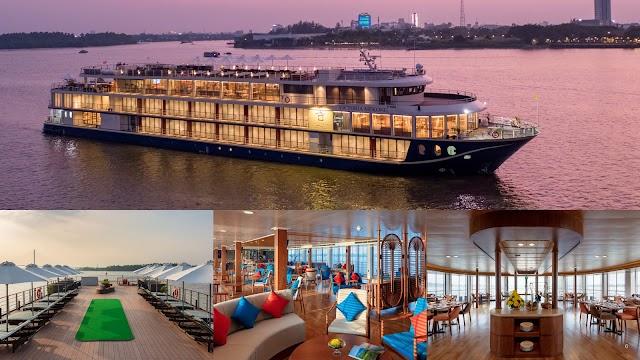 Hành trình du lịch - nghỉ dưỡng và chăm sóc thân tâm trên du thuyền cao cấp