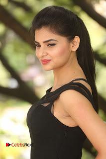 Actress Kamna Ranwat  Pictures in Black Short Dress at Selfie Raja Interview  0042