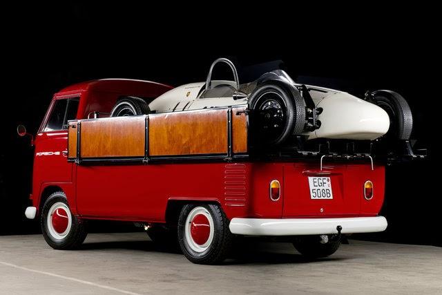 1964 Vw Bus Race Porsche Formula V Transporter Team Vw
