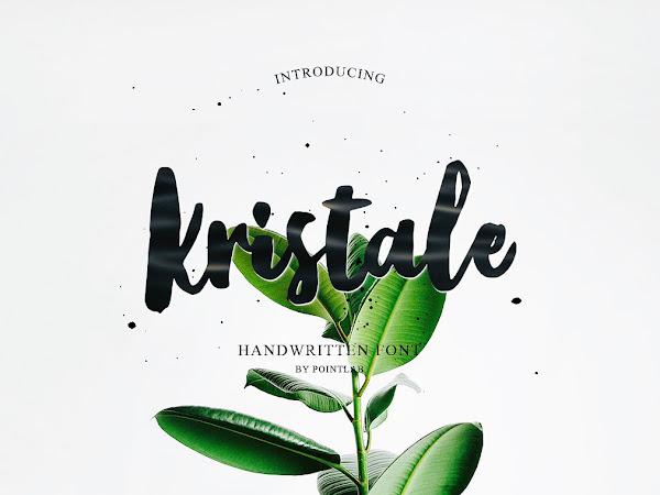 Kristale Brush Script Font Free Download
