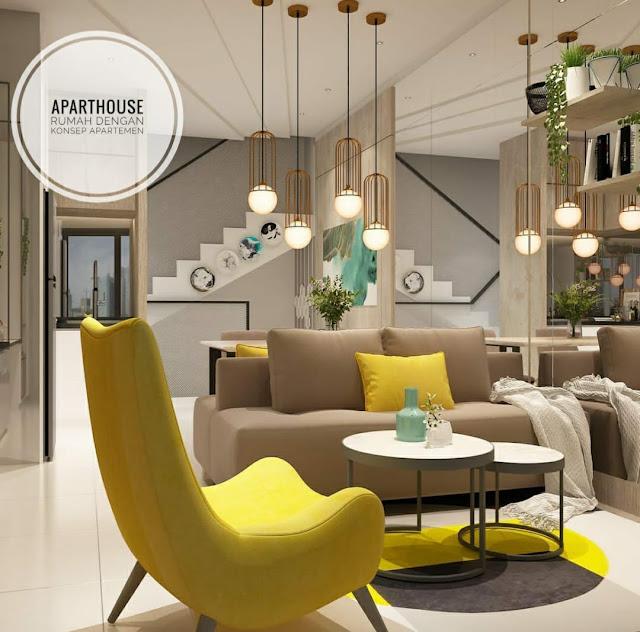 Crystal Aparthouse di Blok M Jakarta