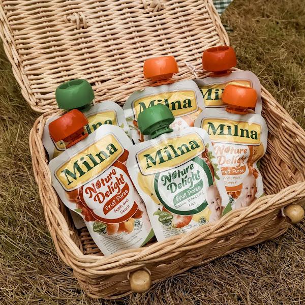 Milna Nature Delight Fruit Puree, Solusi Untuk Anak Yang Malas Makan Buah dan Sayur!