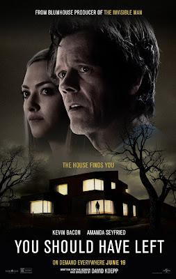 You Should Have Left, Um Thriller Protagonizado Por Amanda Seyfried Para  Blumhouse Que Fracassou