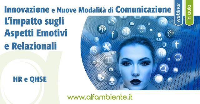 Innovazione e nuove modalità di comunicazione: l'impatto sugli aspetti emotivi e relazionali