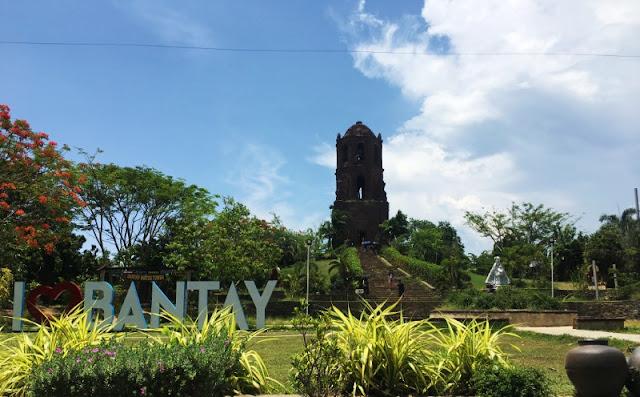 Vigan Ilocos Sur - Bantay Bell Tower is one of the tourist attractions in Vigan Ilocos Sur