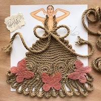 Arte con collage y materiales reciclados