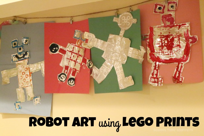 preschool robot theme