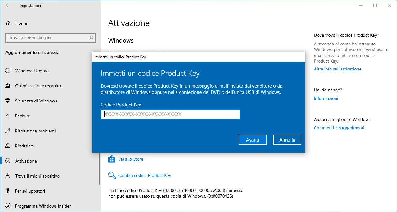 Acquista software Antivirus per 15 € e ricevi Windows 10 Pro gratis!