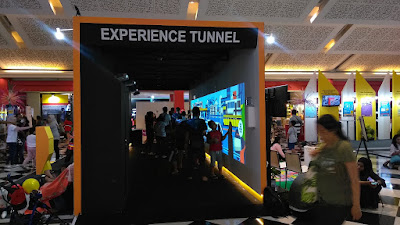 experience tunnel mass rapid transport