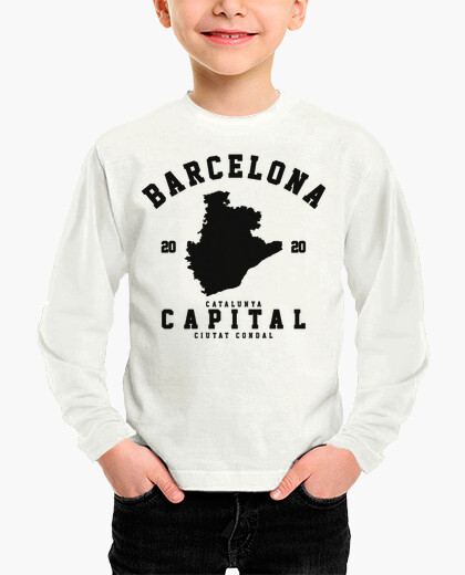 Ciudades, cataluña, camisetas