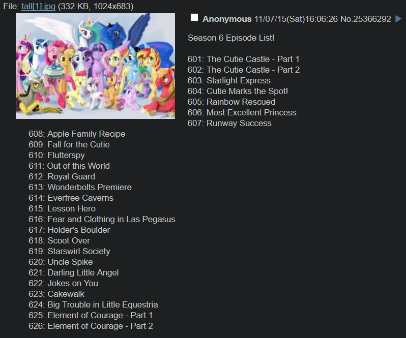 Mlp Wiki Episode List Related Keywords & Suggestions - Mlp Wiki