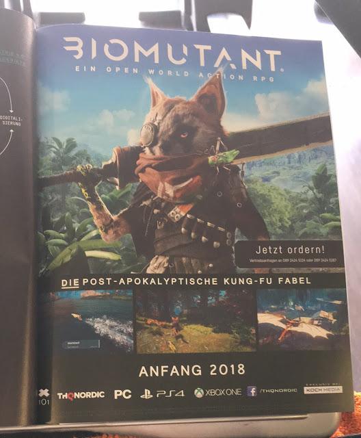 Se filtra espectacular título protagonizado por mapache llamado Biomutant