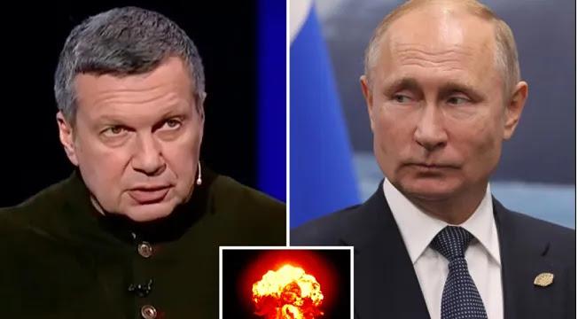 Ρωσική τηλεόραση: Πυρηνικά αν δεν υποχωρήσει το ΝΑΤΟ στην Ουκρανία, vid