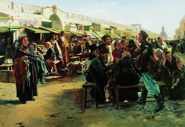 Маковский Владимир Егорович - В полдень. 1879
