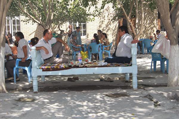 Ouzbékistan, Boukhara, tapshan, tapchane, © L. Gigout, 2012