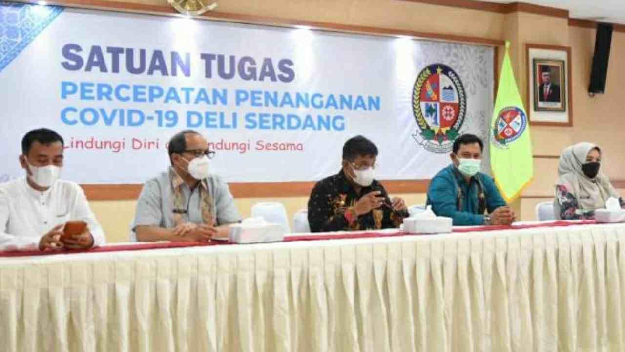 Kabupaten Deli Serdang Berhasil Masuk Kategori Level 1 PPKM Untuk Sumatera Utara