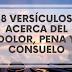 8 VERSÍCULOS ACERCA DEL DOLOR, PENA Y CONSUELO